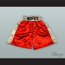 Ronald 'Winky' Wright Red Boxing Shorts