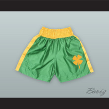 Irish Shamrock Green Boxing Shorts