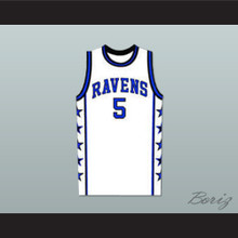 Lucas Scott One Tree Hill Ravens White Basketball Jersey Any Number or Player