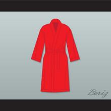 Ray 'Boom Boom' Mancini Red Satin Full Boxing Robe