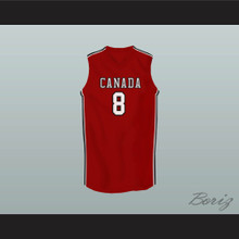 Andrew Wiggins Canada Red Basketball Jersey