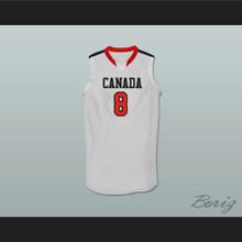 Andrew Wiggins Canada White Basketball Jersey