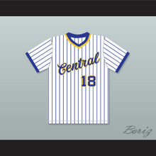 Dan Marino 18 Central Catholic High School Pinstriped Baseball Jersey