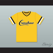 Darryl Strawberry 18 Crenshaw High School Cougars Yellow Baseball Jersey