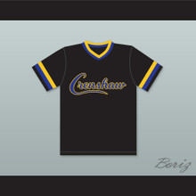 Darryl Strawberry 18 Crenshaw High School Cougars Black Baseball Jersey
