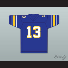 Dan Marino 13 Central Catholic High School Vikings Blue Football Jersey