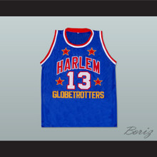 Wilt Chamberlain Harlem Globetrotters Basketball Jersey New Any Size