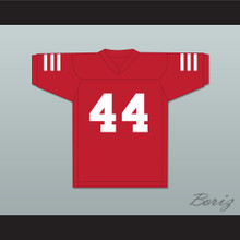 Julian Edelman 44 Redwood City 49ers Red Football Jersey