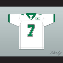 Byron Leftwich 7 Marshall White Football Jersey