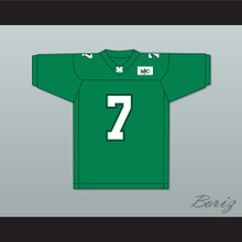 Byron Leftwich 7 Marshall Green Football Jersey