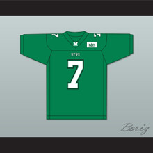 Byron Leftwich 7 Marshall Herd Green Football Jersey