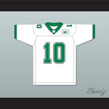 Chad Pennington 10 Marshall White Football Jersey