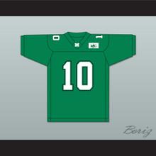 Chad Pennington 10 Marshall Green Football Jersey