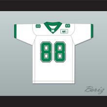Randy Moss 88 Marshall White Football Jersey