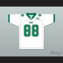 Randy Moss 88 Marshall Herd White Football Jersey