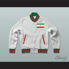 Iran Varsity Letterman Jacket-Style Sweatshirt