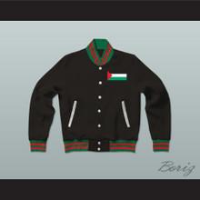 Palestine Varsity Letterman Jacket-Style Sweatshirt