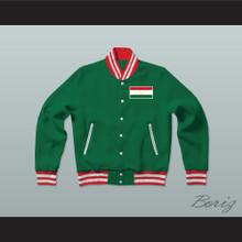 Tajikistan Varsity Letterman Jacket-Style Sweatshirt