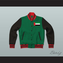 United Arab Emirates Varsity Letterman Jacket-Style Sweatshirt