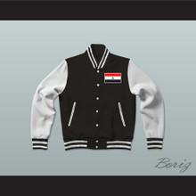 Yemen Varsity Letterman Jacket-Style Sweatshirt