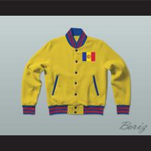 Andorra Varsity Letterman Jacket-Style Sweatshirt