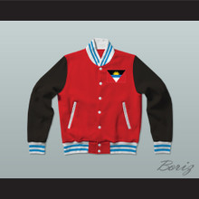 Antigua and Barbuda Varsity Letterman Jacket-Style Sweatshirt