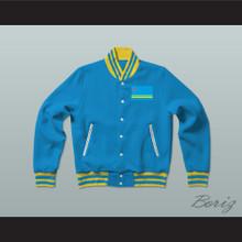 Aruba Varsity Letterman Jacket-Style Sweatshirt