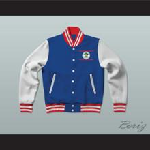 Belize Varsity Letterman Jacket-Style Sweatshirt