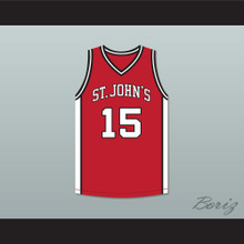 J. Cole 15 St. John's Red Basketball Jersey