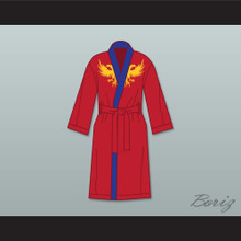 Viktor Drago Red Satin Full Boxing Robe Creed II