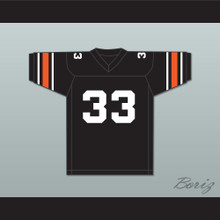 Orc Fogteeth 33 Black Football Jersey