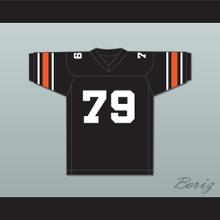Orc Fogteeth 79 Black Football Jersey