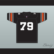 Orc Fogteeth 79 Black Football Jersey with Patch