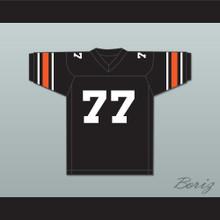 Orc Fogteeth 77 Black Football Jersey