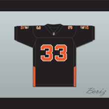 Orc Fogteeth 33 Black Football Jersey with Patches