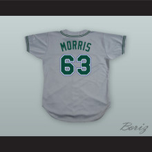 Jimmy Morris 63 Pro Career Baseball Jersey The Rookie