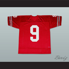 Keanu Reeves Johnny Utah 9 Football Jersey Point Break