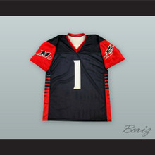 Memphis Express 1 Football Jersey with Patches