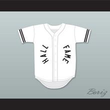 Hall of Fame 13 White Baseball Jersey