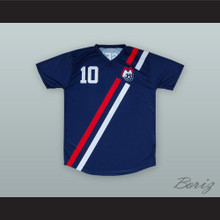 Eusebio 10 Boston Minutemen Soccer Jersey