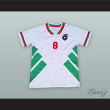 Hristo Stoitchkov 8 Bulgaria Soccer Jersey