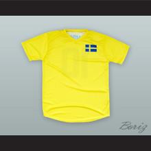 Ibrahimovic 10 Sweden Soccer Jersey