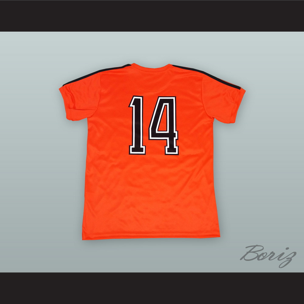 premium selection 870e7 0f909 Johan Cruyff 14 Holland Netherlands Soccer Jersey