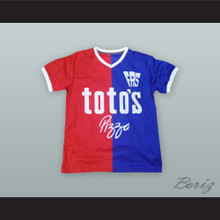 Magico Gonzalez 10 C.D. FAS Red/Blue Soccer Jersey