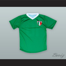 Mexico 10 Green Soccer Jersey