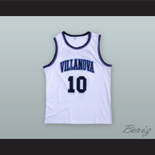 Donte DiVincenzo 10 Villanova White Basketball Jersey