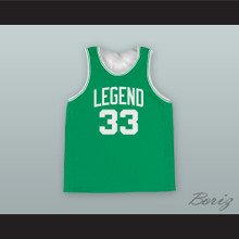 Larry Bird 33 Legend Basketball Jersey