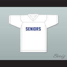 Seniors 77 White Football Jersey Dazed and Confused