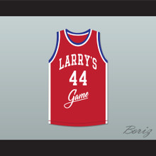 Sidney Green 44 Larry's Game Red Basketball Jersey 1988 Charity Event