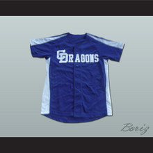 Chunichi Dragons Jack Elliot Mr. Baseball Movie Jersey NEW Stitch Sewn